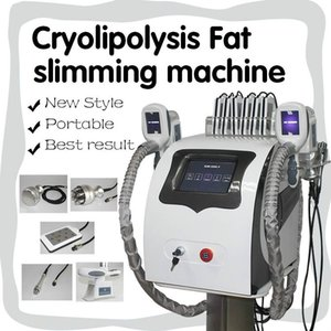2020 criolipólisis grasa de congelación aprobada Máquina de reducción de grasas Máquina crioterapia adelgazamiento de cavitación RF láser Lipo Machin CE