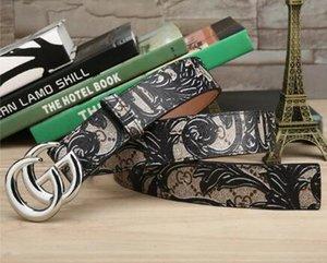 cinture di marca di moda di lusso per la cinghia mens della cinghia di design di alta qualità pura di rame in pelle fibbia della cintura di castità maschile con trasporto libero scatola regalo