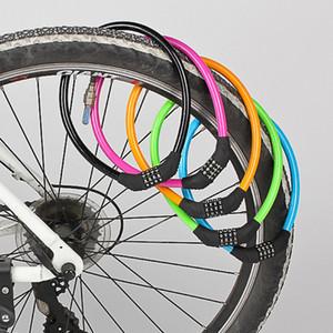 Solide Durable Mountainbike Lock Anti Verschleiß Mode Fahrrad Zubehör Hohe Härte Falten Universal ABS Material Heißer Verkauf