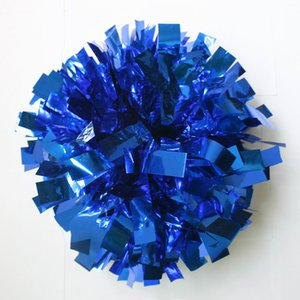 Game pompoms ( 20 pieces lot) Cheering pompons High quality Cheerleading supplies Color and handle can choose Free shipping