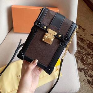 classico caldo stampa catena borse borse verticale sacchetto scatola singola spalla borse crossbody Tracolla regolabile telefonino pacchetto