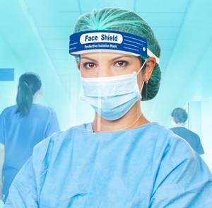 Tam Koruyucu Yüz Maskesi Kask Ağız Yüz Kalkanı Koruyucu Kapak Şeffaf Yüz Gözler Koruyucu Güvenlik Toz geçirmez Maske