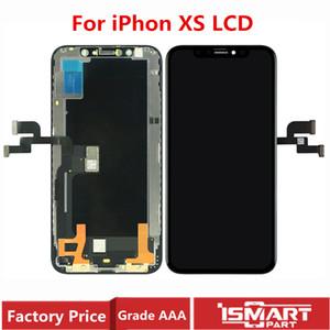 OEM для iPhone XS Дисплей LCD сенсорный экран Digitizer Ассамблеи Замена частей OLED Идеального цвет быстрой доставки