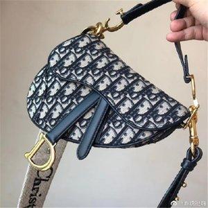 Luxury handbag Dirosaddle bag Designer shoulder bag tote ins party 32CM bayswater handbag best free