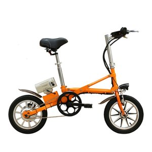 Litio con CMS-6-14 36V250W 14 pulgadas Bicicleta Electrnica plegable batera sin brushlessbikes elctricas Escobillas