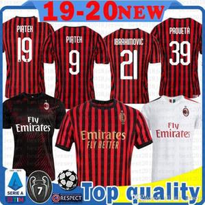 barato Milán Zlatan Ibrahimovic AC camiseta de fútbol S.CASTILLEJO SUSO Calhanoglu BORINI ROMAGNOLI BAKAYOKO piątek Jersey Paquetá fútbol 562201