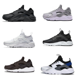 2020 New Air Huarache 1.0 4.0 Homens Running Shoes Stripe baratos Red Balck Azul branco ouro rosa Marca Mulheres instrutor Huaraches 4 5 Sneakers