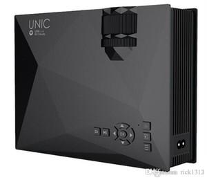 wifi Wholesale-UC46 proiettore LED 1200LM 3D supporto proiettore 1920x1080 DLNA AV USB schermo HDMI VGA Mini SD Proiettore Home Video TV Beamer
