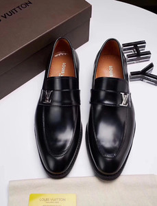 Top luxurious New Genuine Leather Men's Flats Men shinny glitter shoes men smoking slippers Prom and party male loafers