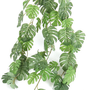 Joy-Enlife 1 pz artificiale foglia di palma per la decorazione domestica decorazioni da giardino Accessori Fotografia decorativa decorazione di cerimonia Nuziale Forniture