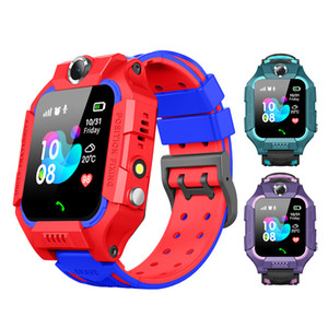 Kids Q19 Smart Watch Wateproof LBS Tracker Smartwatches SIM Card Slot with Camera SOS Voice Chat Smartwatch For Smartphone