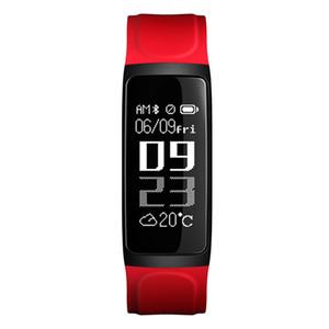 C7S intelligent Bracelet Fitness Tracker sang pression moniteur de fréquence cardiaque intelligent Regarder l'écran étanche pour iPhone Passometer Android Wristwatch