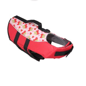 Wholesale Pet Floatation Vest Saver Swimsuit Soft handle Dog Lifejackets for Water Safety