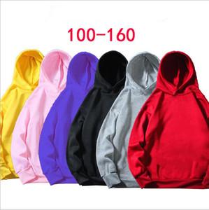 Дети Толстовки Толстовки мальчиков Дизайнер одежды Сплошной Velvet Coat Детский сад Класс Outwear Девушки флисовой куртки Топы младенца вскользь пальто B7126