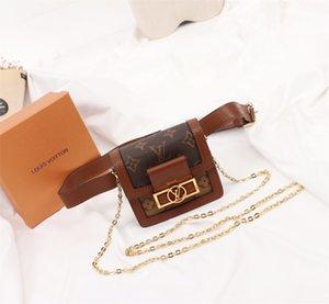2020 bolso de cuero del teléfono móvil bolso de la tarjeta de cambio de dinero de lujo clásico de la moda hombres y mujeres diseñador de la marca tendencia salvaje pequeña Daphne Mini
