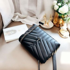 2020 Ombro de couro genuíno Bucket Mulher Bolsas inclinado Messenger Bag Vintage Bloqueio Envelope Postman Handbag Mulheres alta pacote de qualidade