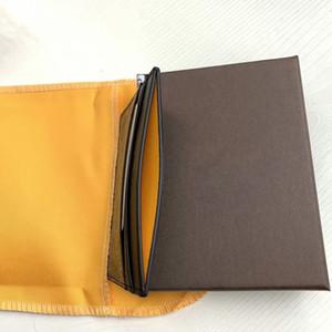 Mann-Mappe Visitenkartenhalter Mank Kartenhalter Leder Kuh Pickup Paket Bus Kartenhalter Slim Leder Multi-Card-Bit-Pack Taschen
