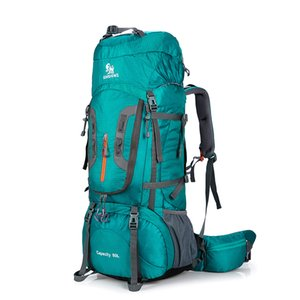80L Outdoor camping backpack Hiking Climbing Nylon Bag Superlight Sport Travel Package Brand Knapsack Rucksack Shoulder bags 299