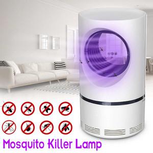 Led asesino del mosquito noche de la lámpara UV Luz USB Insect Killer Bug Zapper trampa del mosquito eléctrico repelente fotocatalítica de la lámpara de Trampa