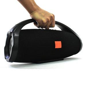 BoomBox 888 Altifalantes portáteis de música Bluetooth 3D Baixo HIFI acústicos de coluna Subwoofers 25W outpower Mãos Smartphone gratuito TF USB Music Box