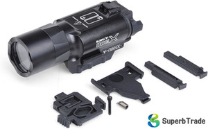 Gece Evrim SF X300U Stil Taktik Fener CREE Q5 LED Fit Tabancalar ve Tüfekler Sağ ve Sol-Elli Silah Hem ışıkları Monteli
