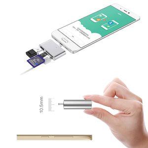 USB-концентраторы типа C для USB 4 в 1 Card OTG SD TF Card Reader адаптер для Micro USB 3.1 новый