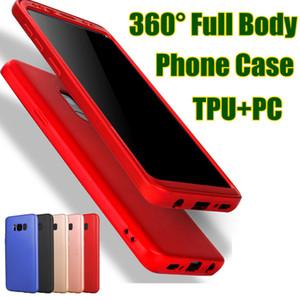 إلى Samsung S9 Plus Case TPU + PC 360 Full Screen Protection For Galaxy S9 S8 Plus S7 Edge مع خاص حامي شاشة الهاتف