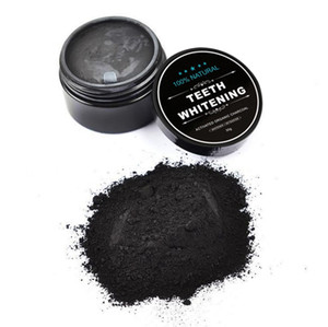 قشور جوز الهند المنشط الأسنان الكربون التبييض العضوية الطبيعية الخيزران الفحم معجون مسحوق غسيل أسنانك بيضاء