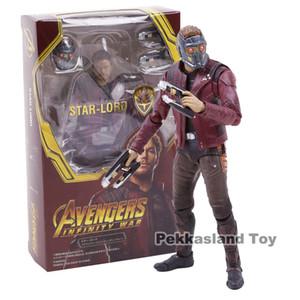 Marvel Legends Avengers Infinity Savaş Yıldızı Lord Peter Quill Sıcak Oyuncaklar PVC Action Figure Koleksiyon Model Oyuncak SH190911