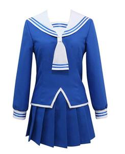 Meyve Sepeti Honda Tooru Cosplay Kostüm Okul Üniforması Sailor Elbise Etek Suit