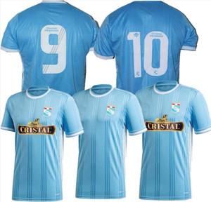 2020 2021 Perù Sporting Cristal Soccer Jerseys Casa Away 20 21 Camicia da calcio Sandoval Herrera Corozo Ortiz