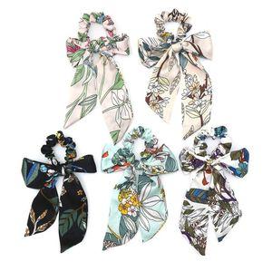 Arco Flotadores Anillo de Pelo Mujeres Cinta Chica Bandas Para el Cabello Scrunchies Horsetail Tie Sólido Sombreros Moda Accesorios Para el Cabello
