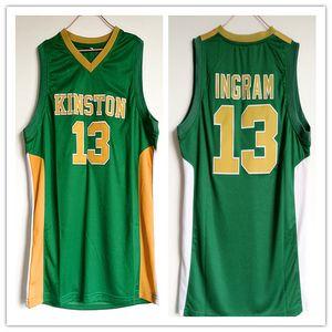 Kinston High School 13 chandails de basket-ball taille S-5XL pour Brandon Ingram homme femme