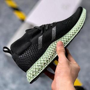 Nueva Consorcio 4D Kith Aspen Medio Runner Aspen Verde Futurecraft LTD zapatillas para hombre de los zapatos corrientes de las zapatillas de deporte Deportes Formadores Diseñador Tamaño 45