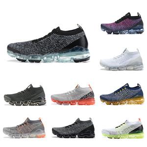 Alta calidad Cushion Fly 3.0 hombres mujeres corriendo zapatos al aire libre multicolor negro blanco azul Knit 3S Jogging diseñador deporte zapatillas de deporte US5.5-11