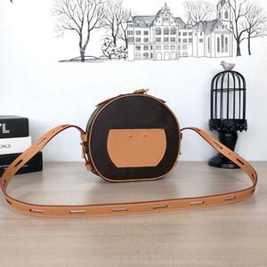 Kadınlar çanta BOITE CHAPEAU SOUPLE tasarımcı crossbody çanta moda lüks tasarımcı çanta Baskılı omuz çantası En kaliteli Dairesel çantası