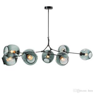 Moderne Glaspendelleuchte Nordic Esszimmer Küche Licht Designer Hängeleuchten Avize Luster Lighting