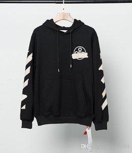 Tasarımcı eşofmanı gevşek kazak Avrupa versiyonunu ok kazak hoodie olağan biçimde artı boyutu baskı yeni bir mektup ow Womens