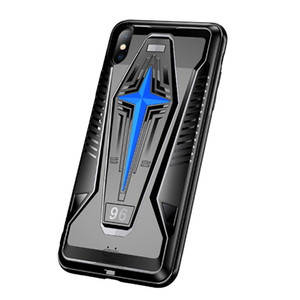 Прочный Shell для iPhone 11 Pro Max X XR XS Game Phone Case Cooler Cooling Назад ударопрочного бампер защитной крышки с встроенным вентилятором