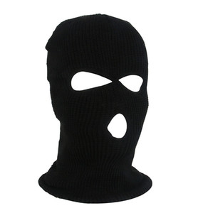 Winter Outdoor Sports Warm Mask Skiing Windbreak Hat Outdoor Sports Warm Riding Mask Windbreak Headgear Black Uniform Code