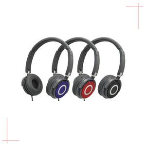 Direkt ab Werk kabelgebundene Kopfhörer mit Kopfbügel CQX268, klappbares, tragbares Design, für PC und Mobiltelefon, kostenloser Einkauf