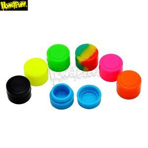 Antiaderente silicone Jar olio 2ML olio Dab Cera antiaderente contenitori robusti di silicone della FDA mini Cera Contenitore Concentrato Box Multi Usa