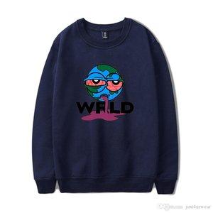 Jugo para hombre WRLD de Pinted sudaderas con capucha de Hip Hop manera más la envuelta larga de los Hoodies de la nueva de la ropa de sport de tendencia