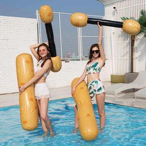4PCS aufblasbaren Swimming-Pool schwimmende Spielzeuge Schwimm Row Sitz Bett Pool Lounger Spielzeug für Erwachsene Kinder Wassermatratze Partei