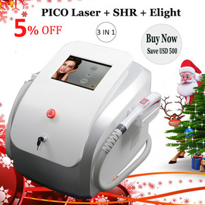 2020 Portatile Picosecond Laser Machine Pigment Spot Rimozione spot SHR IPL Pico Secondo Yag Lazer Capelli Tattoo Rimozione del tatuaggio Pico Laser dispositivo