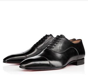 Marca de Moda Vermelho Fundo Sapatos Greggo Orlato Plana Couro Genuíno Sapatos Oxford Mens Womens Walking Flats Mocassins Festa de Casamento 35-46