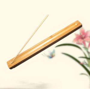 Бамбуковый Материал ручки ладана Plate Incense держатель Ароматный Посуда Стик Курильница Оптовая Бесплатная доставка