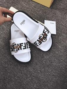 Kadınlar Designersandals FF Harf Kadın Brandsandal Casual Yaz Ayakkabı Designerslipper Moda Flip Flop 20021606T