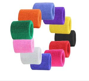 toalla del deporte pulsera de la gimnasia del deporte toalla de algodón muñequera funcionamiento de gimnasia atléticas badana entrenamiento de la gimnasia de la muñeca envoltura saftey accesorios de la aptitud