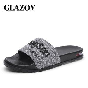 Flip Glazov Herrenschuhe Flops Sommer Herren Pantoffeln New Fashion Design Slides Mann im Freien Männliche beiläufige Slipper Mann Körpergröße 39-45